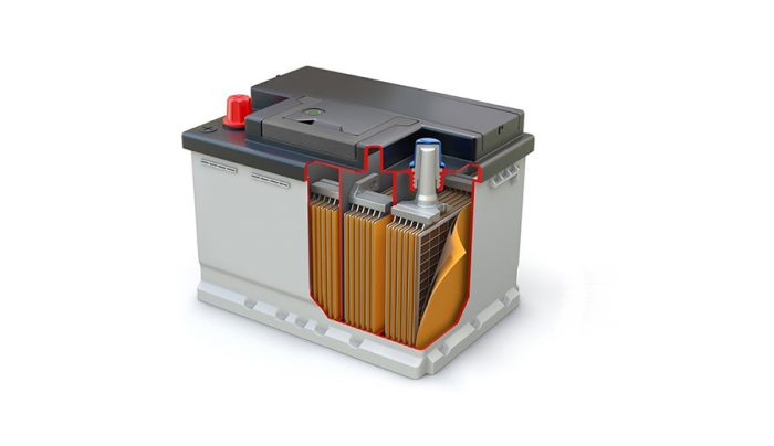 Construction of lead-acid Battery
